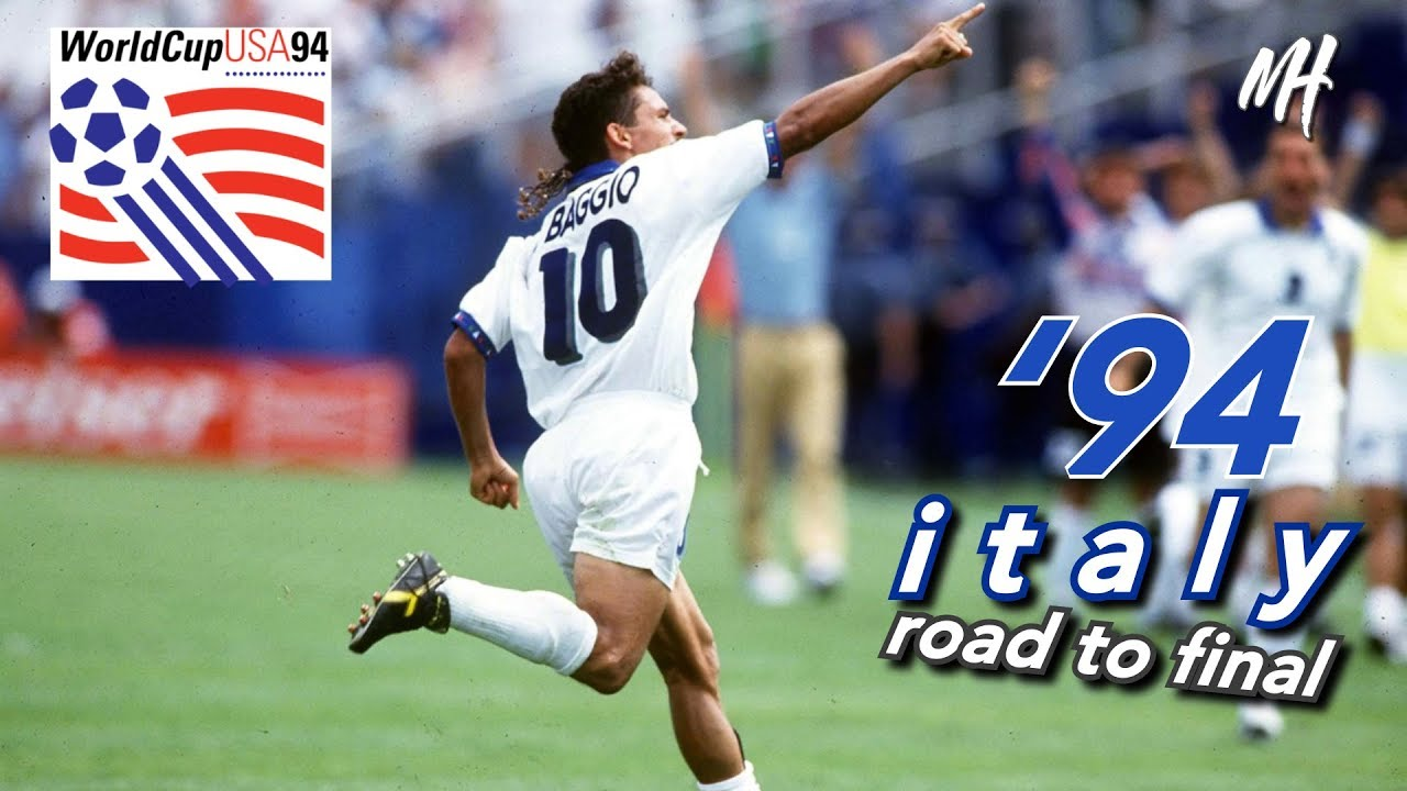 Photo of USA 94 – Italy Road to the World Cup Final