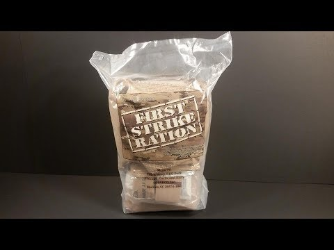 Photo of 2019 FSR 24 Hour Ration MRE Review Menu #6 BBQ Pork Wrap Meal Ready to Eat Taste Testing