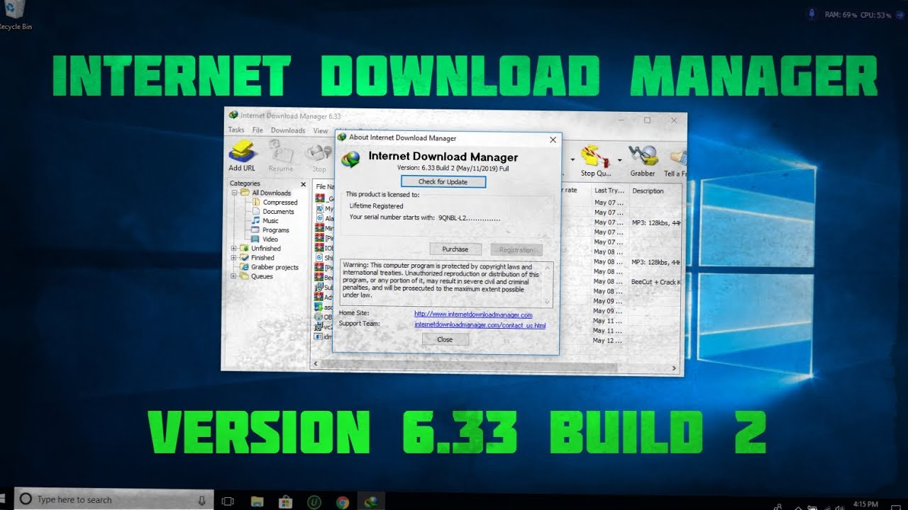 Photo of Internet Download Manager 6.33 Build 2 Full Version + Activation For Free Download 2019 Update