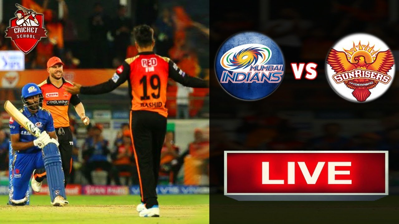 Photo of Live IPL Match | SRH Vs MI  | Live Streaming Scorecard| Match Update