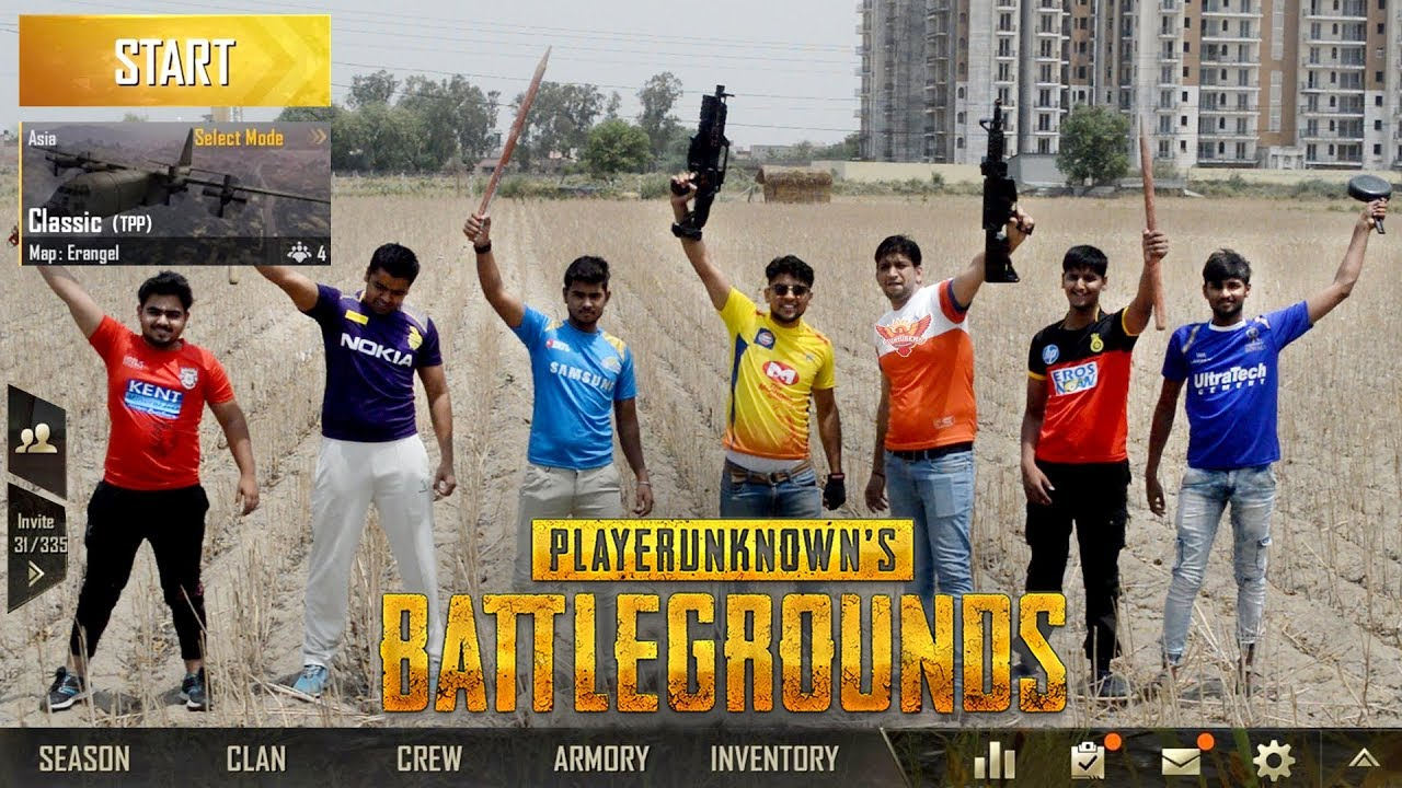 Photo of IPL teams in PUBG | PUBG in Real Life | Funny video 2019