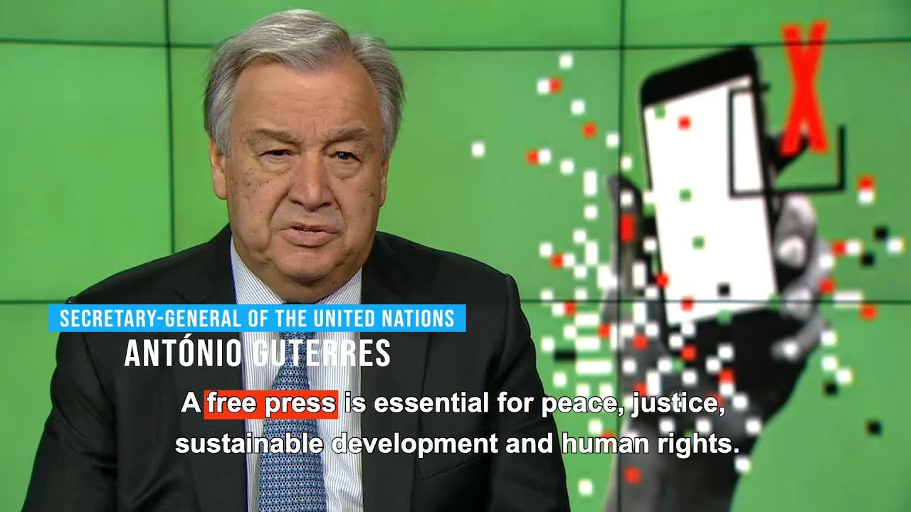 Photo of World Press Freedom Day 2019 (3 May) – Message from UN Secretary-General