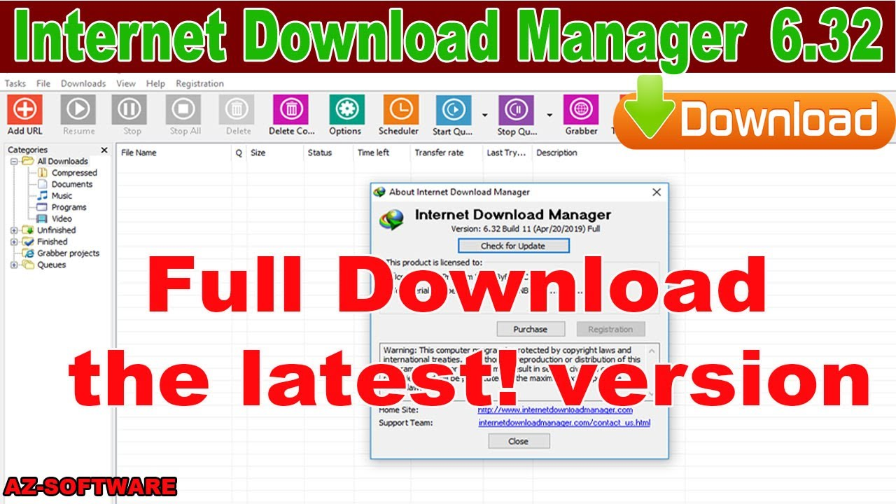 Photo of Internet Download Manager 6.32 Build 11! Full version
