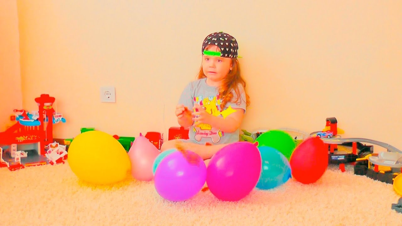 Photo of David plays with Balloons ! Fun playtime with children ! Сollection of children's videos