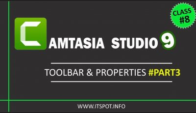 Learn Camtasia Studio 9 | Lesson 8 ( ToolBar & its Properties [part 3] ) in Urdu / Hindi