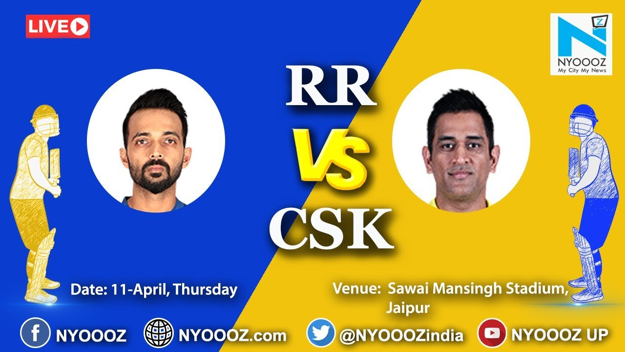 Photo of Live IPL 2019 Match 25 Discussion : RR vs CSK | Chennai Super Kings Won By 4 Wickets