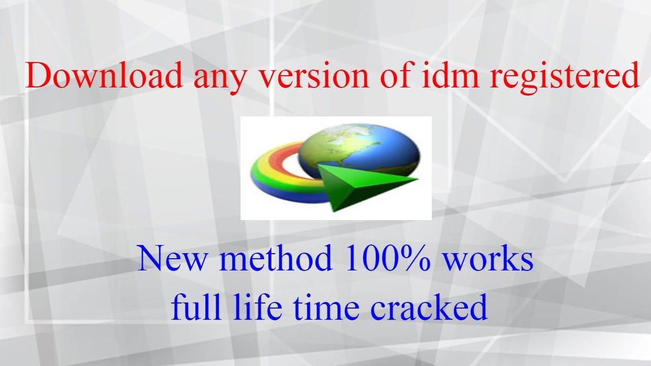 Photo of Download Internet download manager IDM (Any latest version) Registered cracked life time