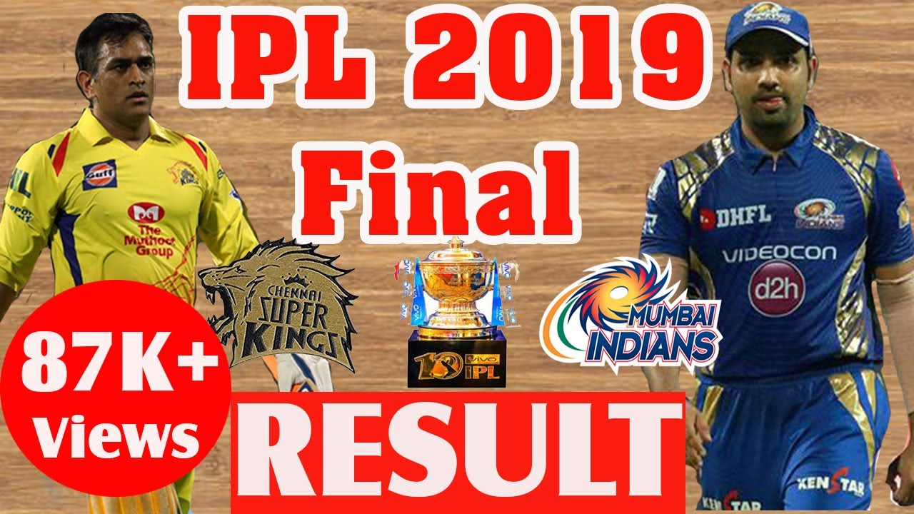 Photo of IPL 2019 Final Best Moments || CSK vs MI Final Match Analysis || IPL 2019 Final result
