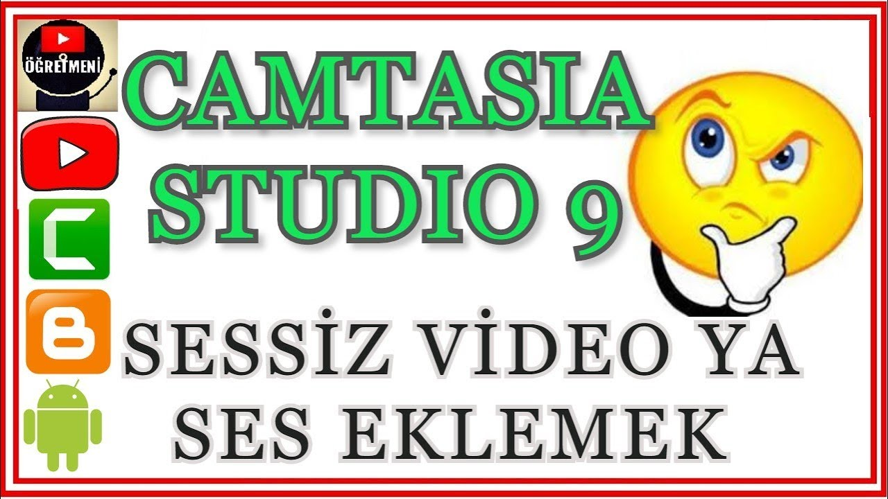 Photo of Camtasia Studio Sesi Olmayan Video Ya Ses Çekimi Ekledik