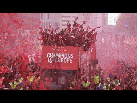 Photo of Liverpool's Champions League Trophy Parade