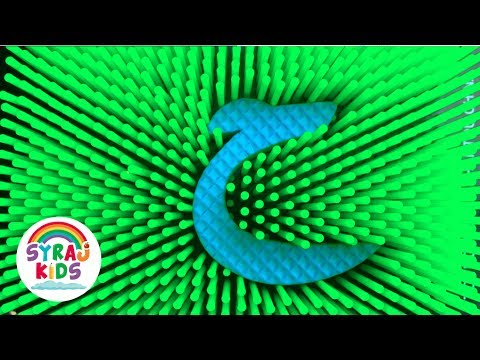 Photo of PIN BOARD FUN | Play & Learn Arabic Alphabet | ا ب ت  Alif Ba Ta