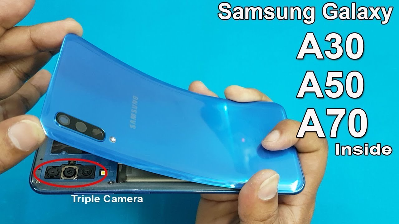 Photo of How to Open Samsung A50 / A70  Back Panel || Samsung A50 Disassembly || Samsung Galaxy A50 Teardown