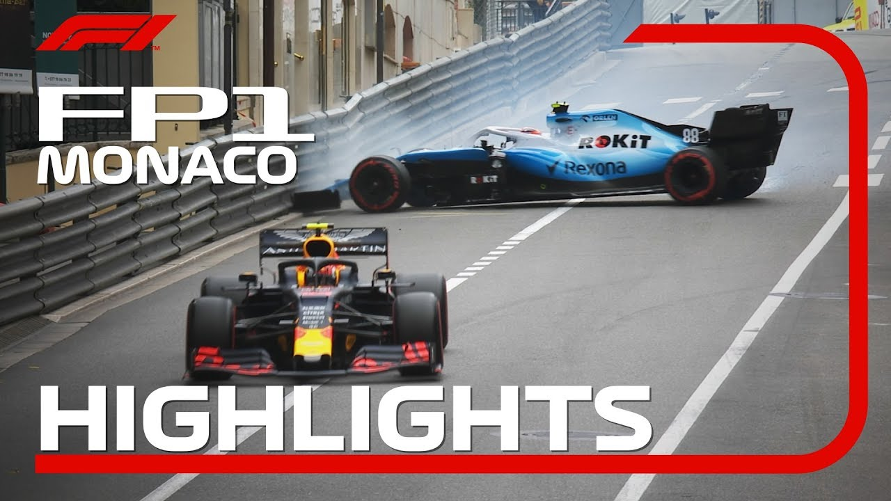 Photo of 2019 Monaco Grand Prix: FP1 Highlights