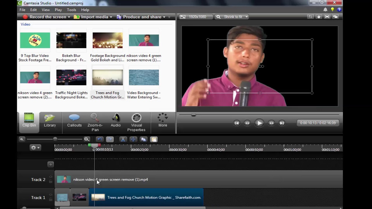 Photo of How To Change Background & Green Screen/Chroma Key  In Camtasia Studio 2019