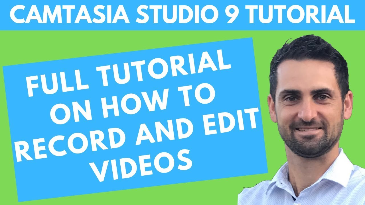 Photo of Camtasia Studio 9 Tutorial – how to record and edit videos with camtasia