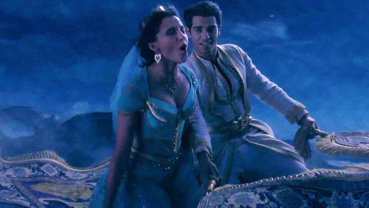 Photo of A Whole New World Song Scene – ALADDIN (2019) Movie Clip