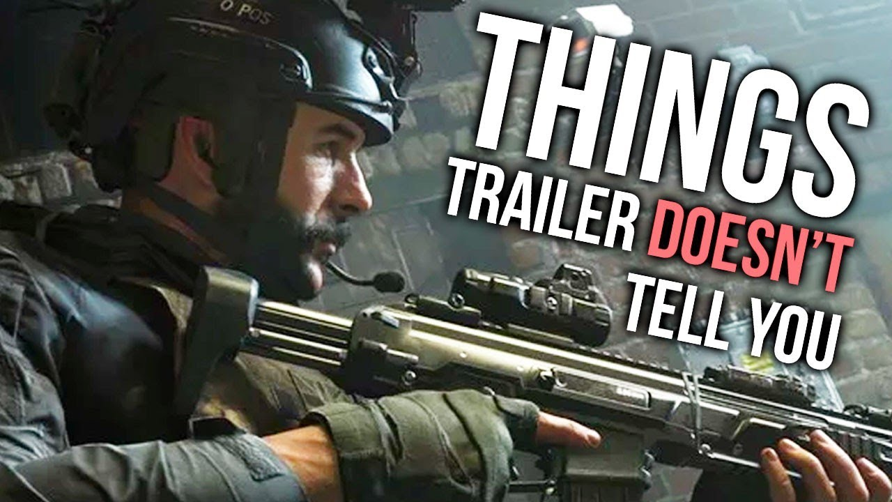 Photo of COD: Modern Warfare 2019 – Things the Trailer DOESN'T Tell You