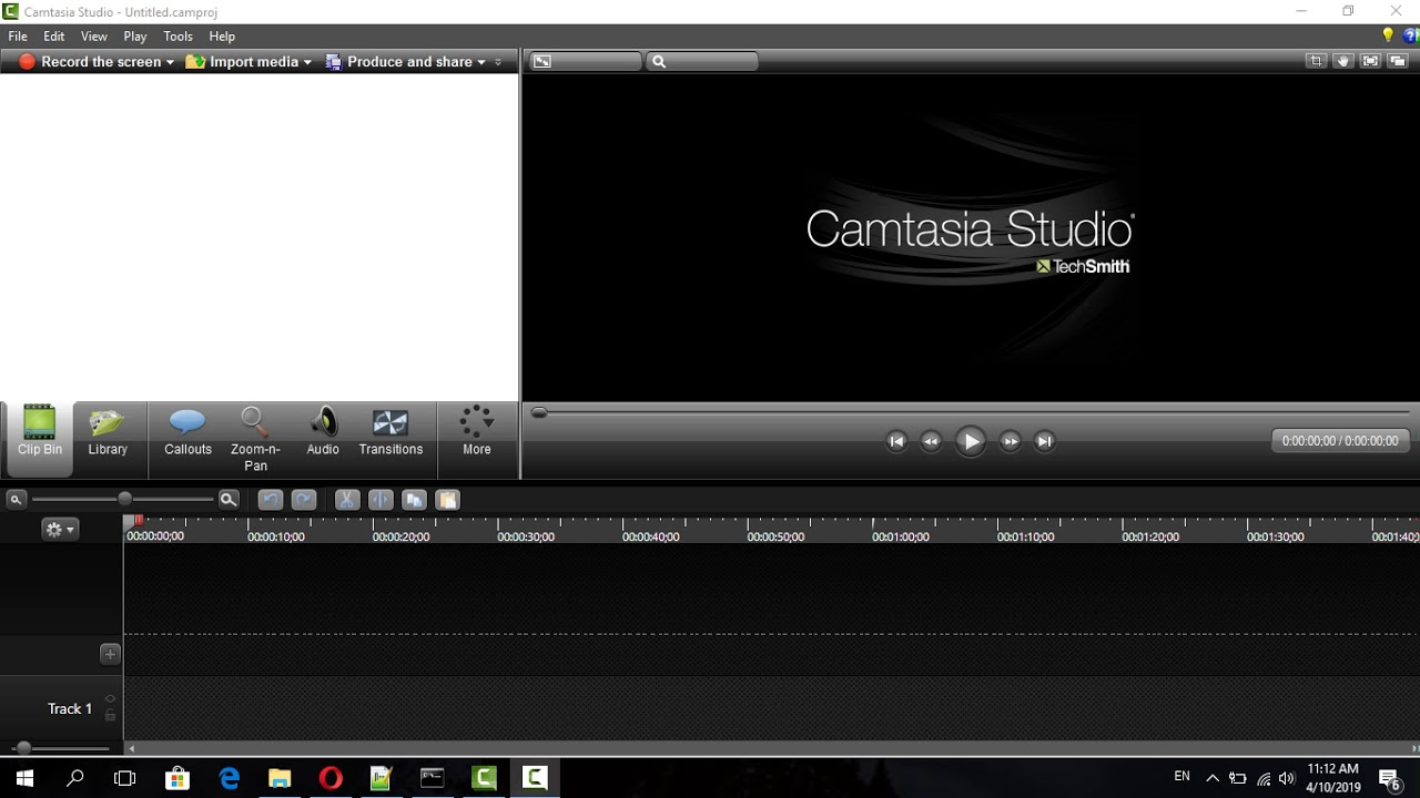 Photo of learning camtasia studio