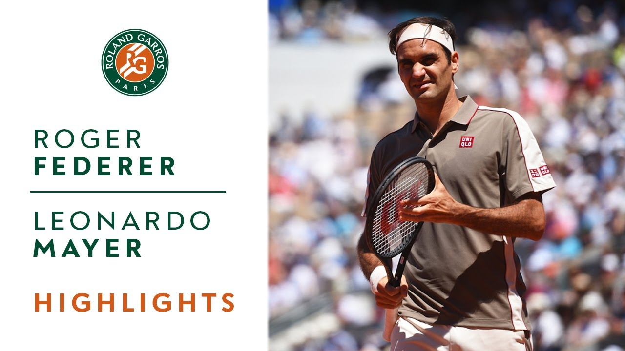Photo of Roger Federer vs Leonardo Mayer – Round 4 Highlights | Roland Garros 2019