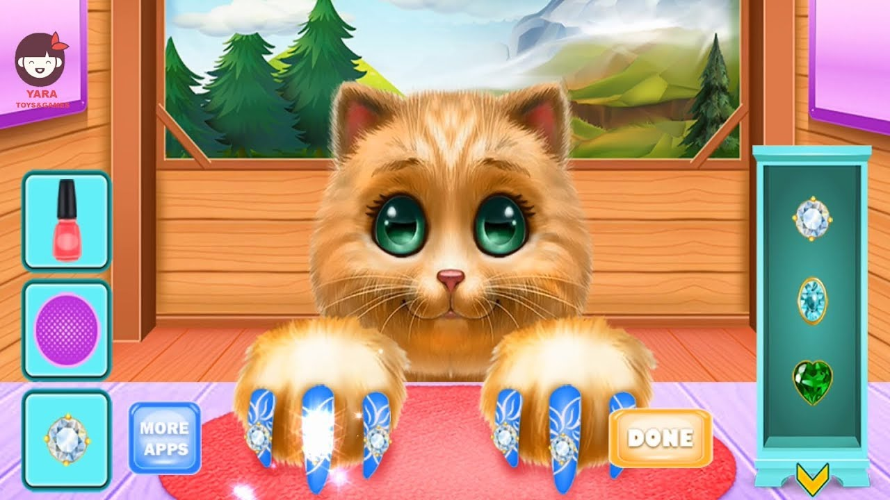 Photo of Animals hair & beauty salon, Cat – Kids & Girls Games | العاب بنات – العاب اطفال