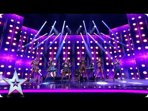 Photo of Absolute QUEENS! Six the Musical perform on BGT   Semi-Finals   BGT 2019