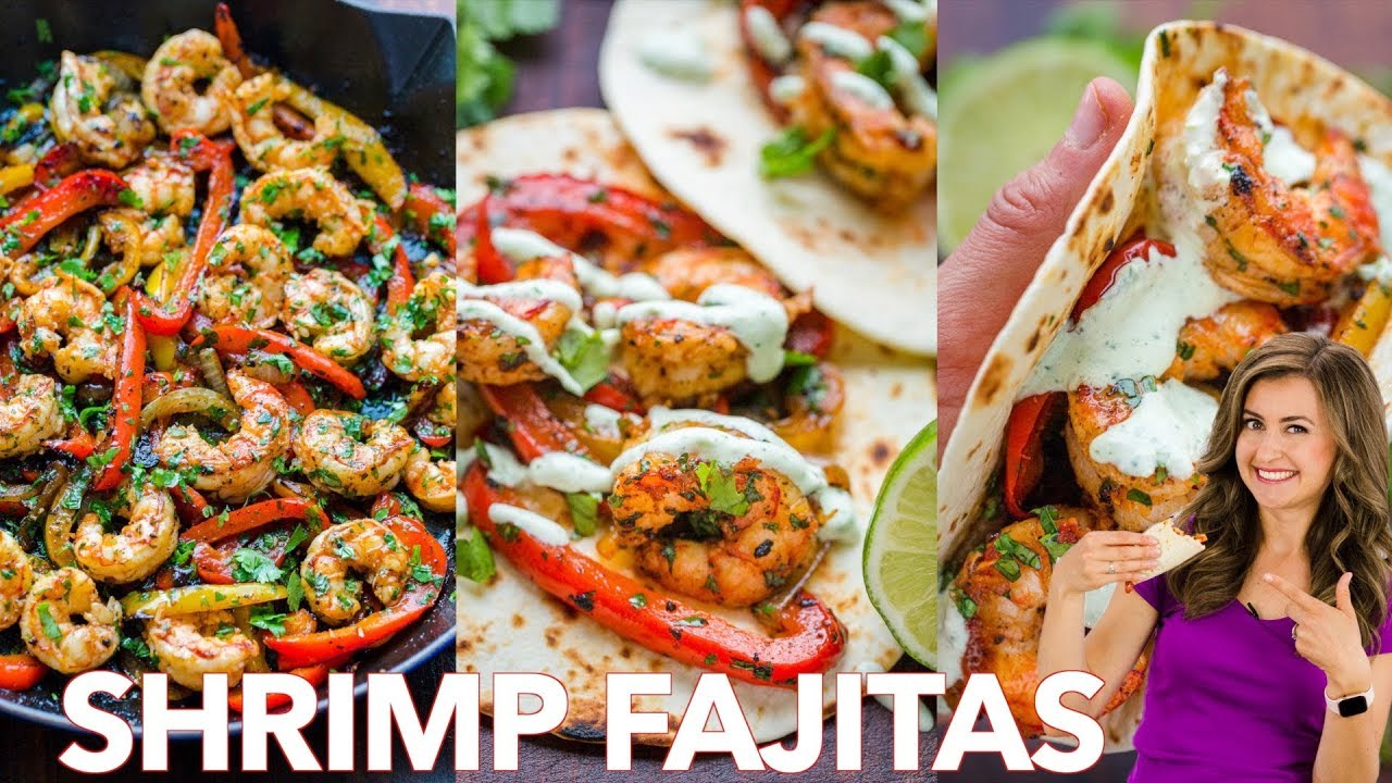 Photo of How To Make Shrimp Fajitas –  Easy | One – Pan | 30 – Minute  Dinner ✅