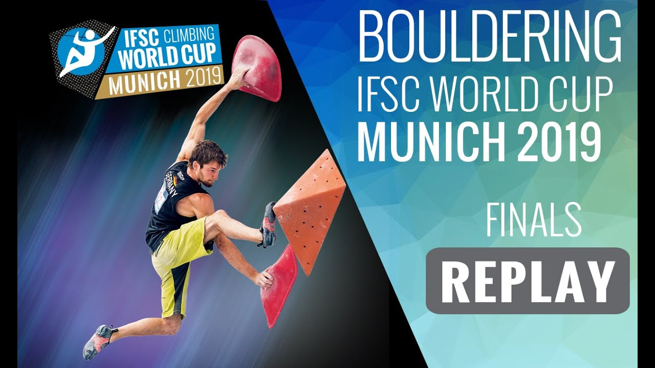 IFSC Climbing World Cup Munich 2019 – Bouldering Finals