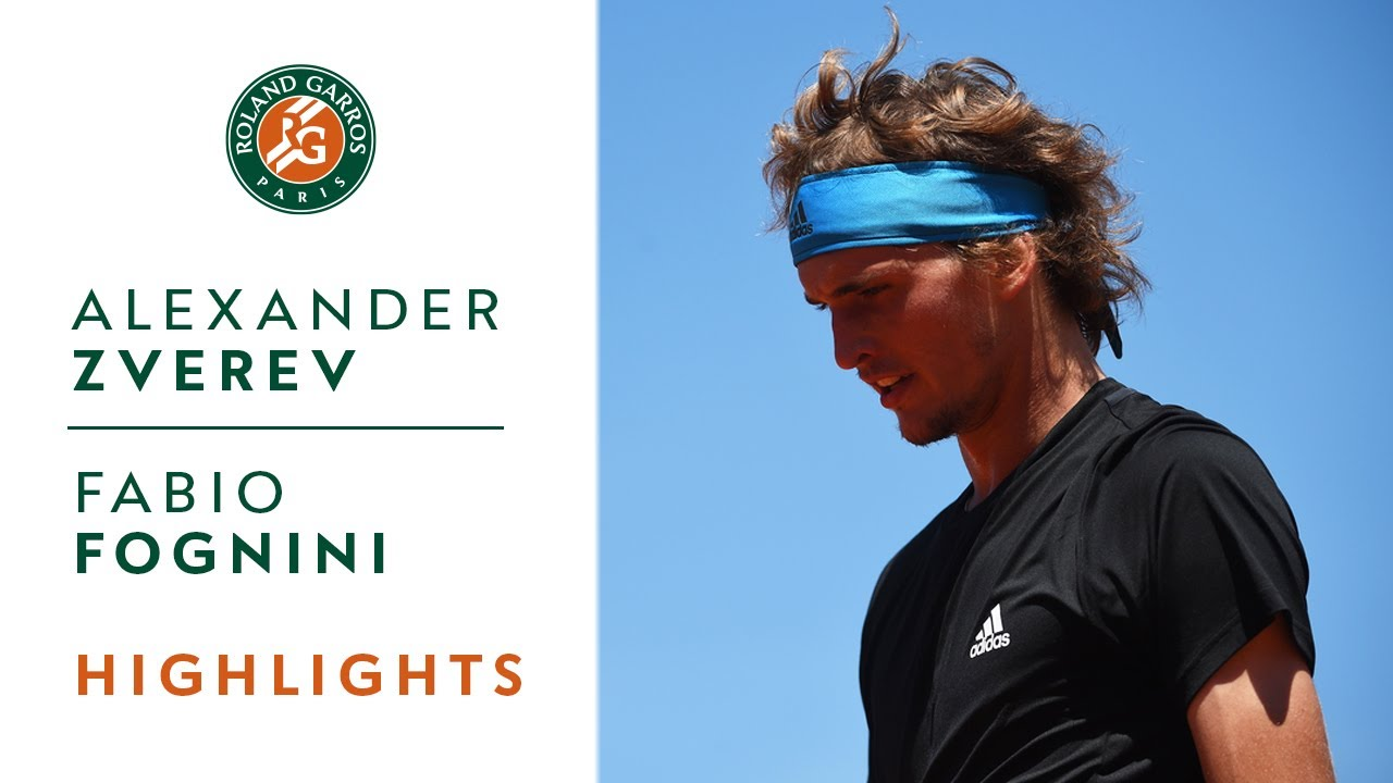 Photo of Alexander Zverev vs Fabio Fognini – Round 4 Highlights | Roland-Garros 2019