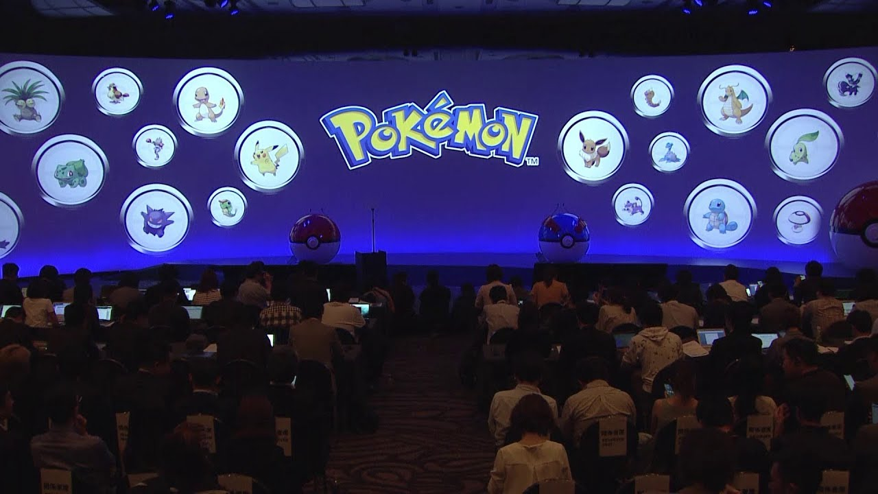 Photo of 2019 Pokémon Press Conference