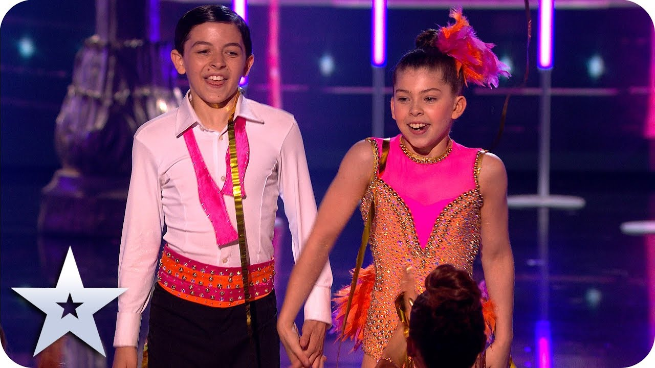Photo of Tiny dancers Libby and Charlie steal the show! | The Final | BGT 2019