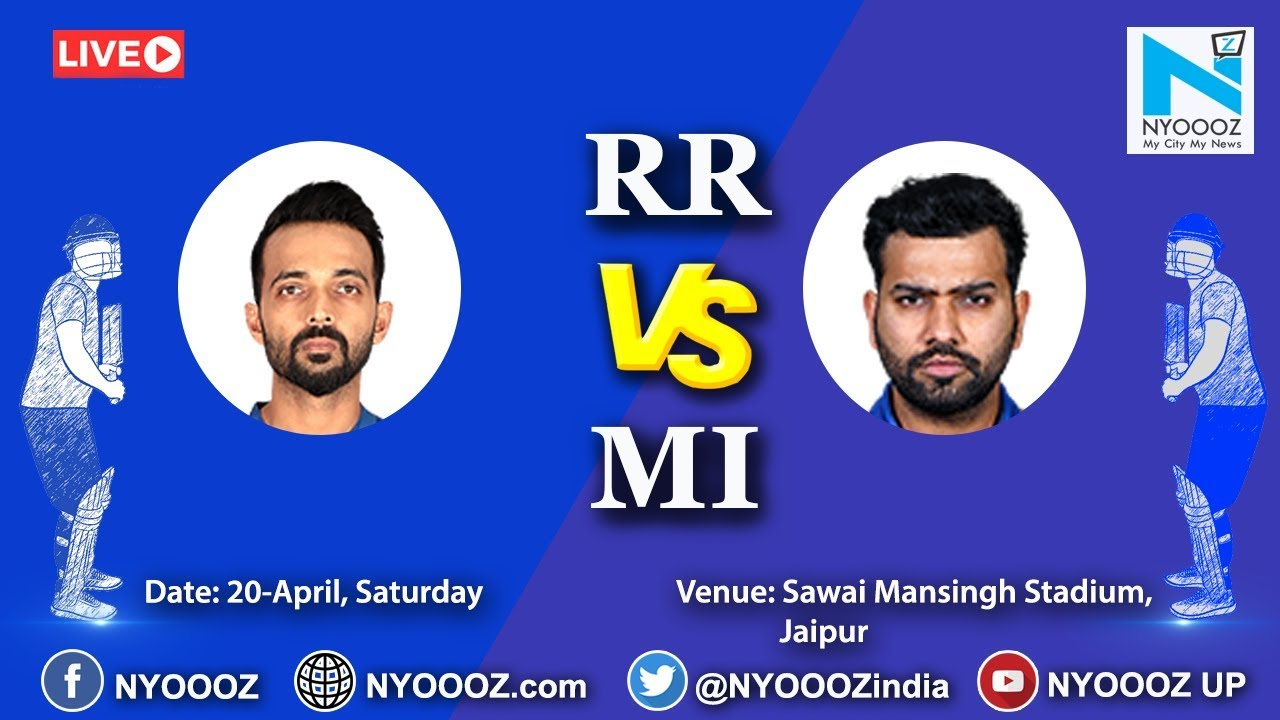 Photo of Live IPL 2019 Match 36 Discussion: RR vs MI | Rajasthan Royals won by 5 wkts
