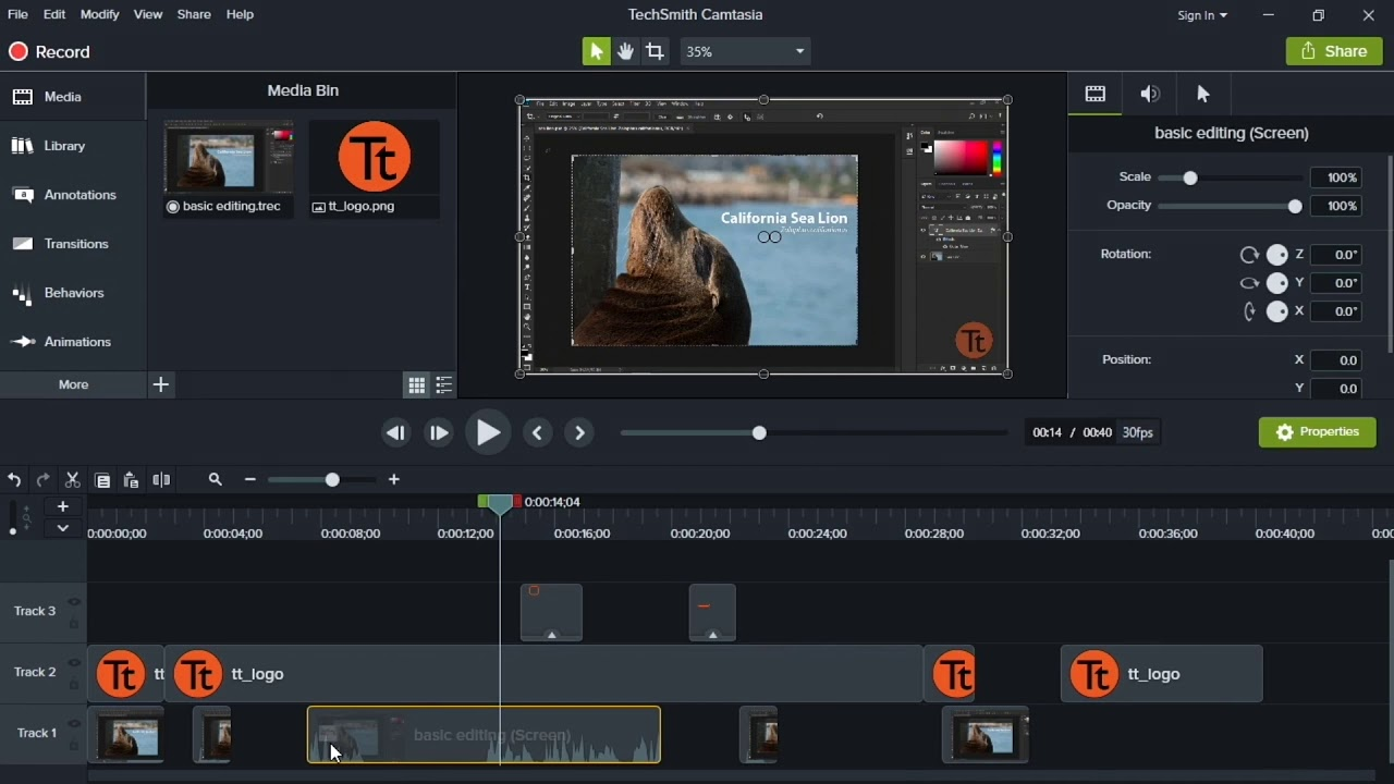 Photo of Camtasia Studio 9 Tutorial in English 2019 – Part 3