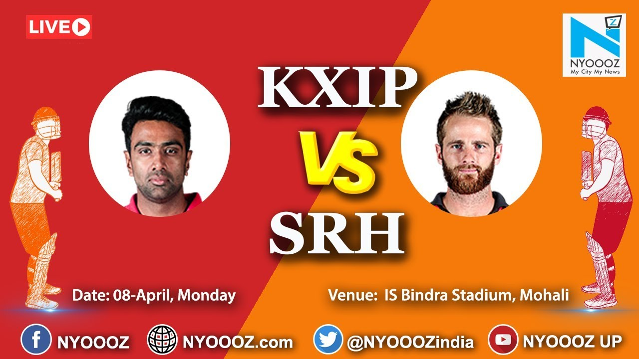 Photo of Live IPL 2019 Match 22 Discussion: KXIP  vs SRH | Target for Kings XI Punjab is 151