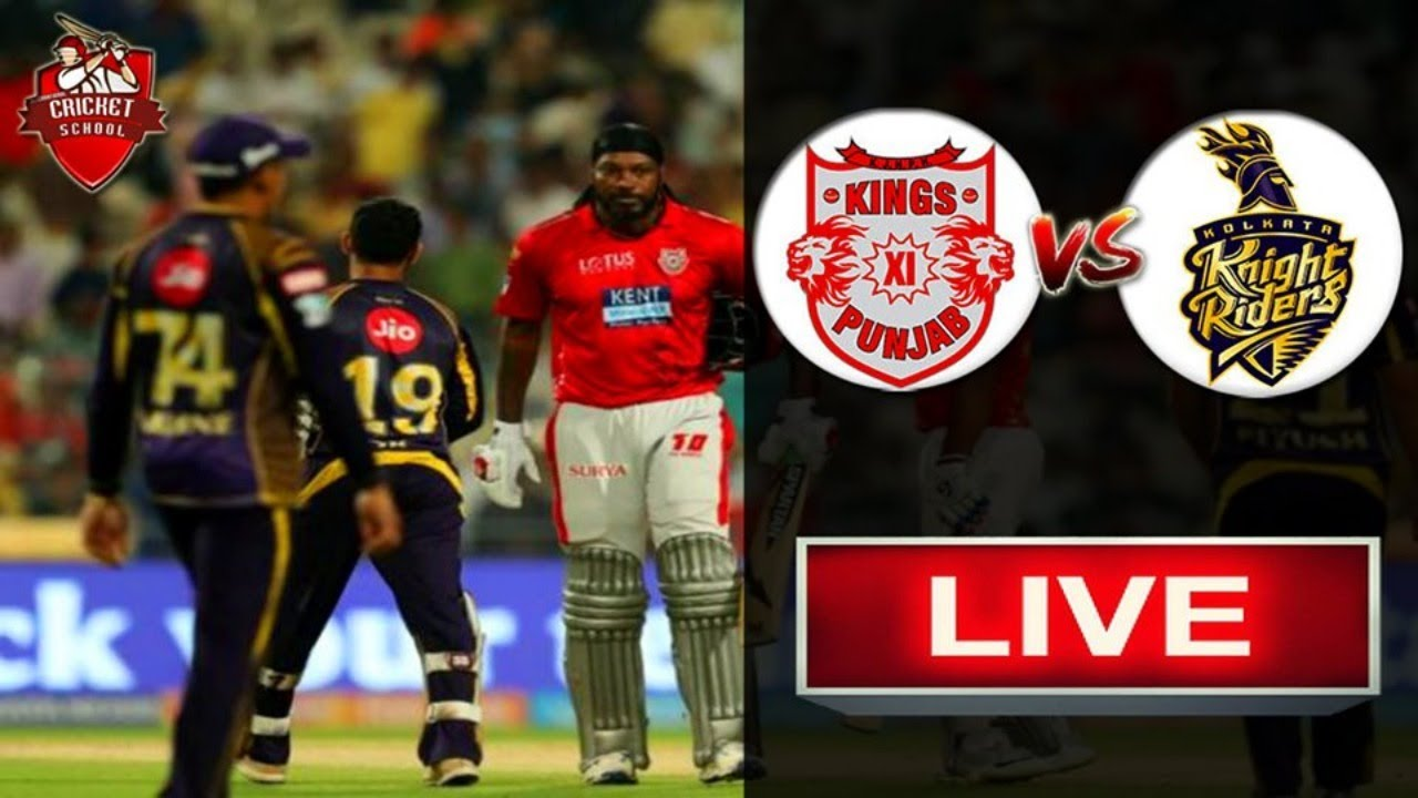 Photo of Live IPL Match | KXIP vs KKR | Live Streaming Scorecard| Match Update