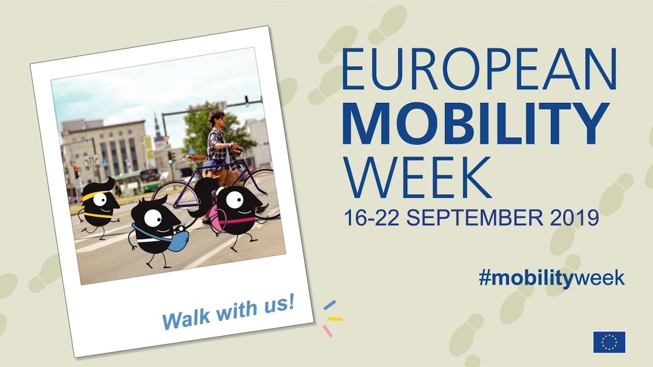 Photo of Walk with us! EUROPEAN MOBILITY WEEK 2019