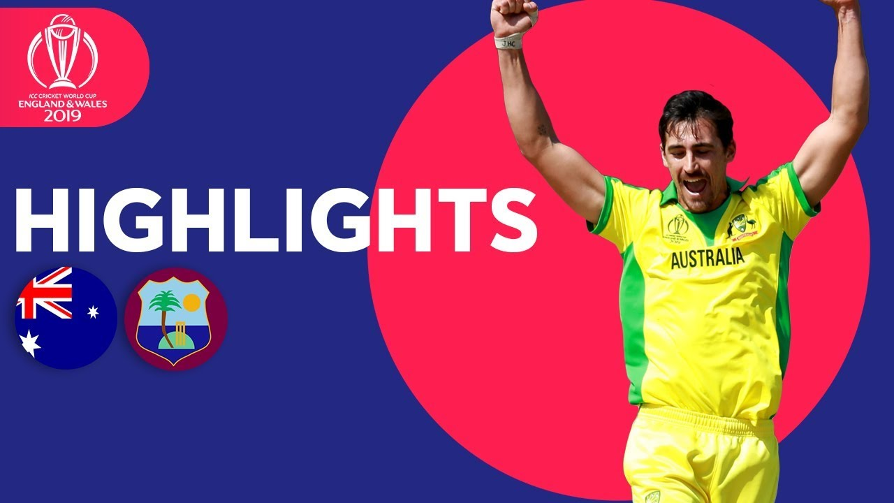 Photo of Starc Stars With 5-for! | Australia vs West Indies | ICC Cricket World Cup 2019 – Match Highlights