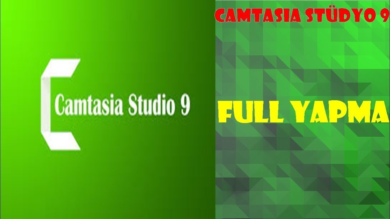Photo of CAMTASIA STUDIO 9 FULL YAPMA [2019]
