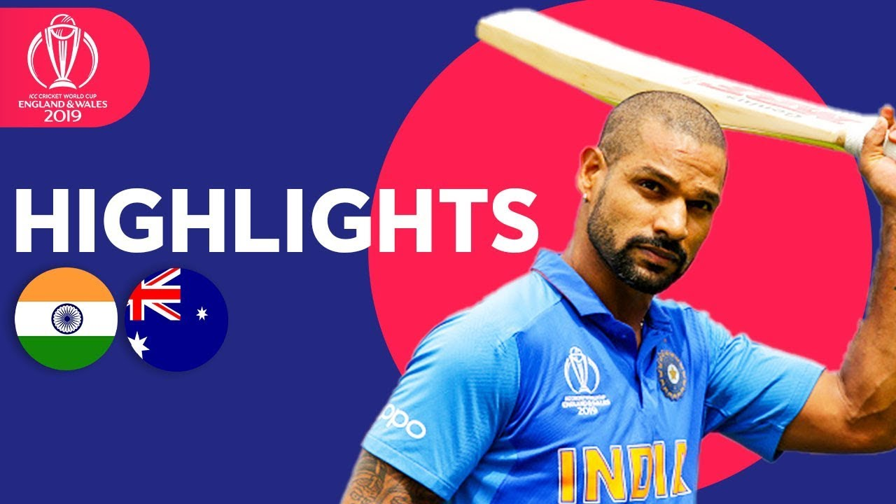 Photo of India vs Australia – Match Highlights | ICC Cricket World Cup 2019
