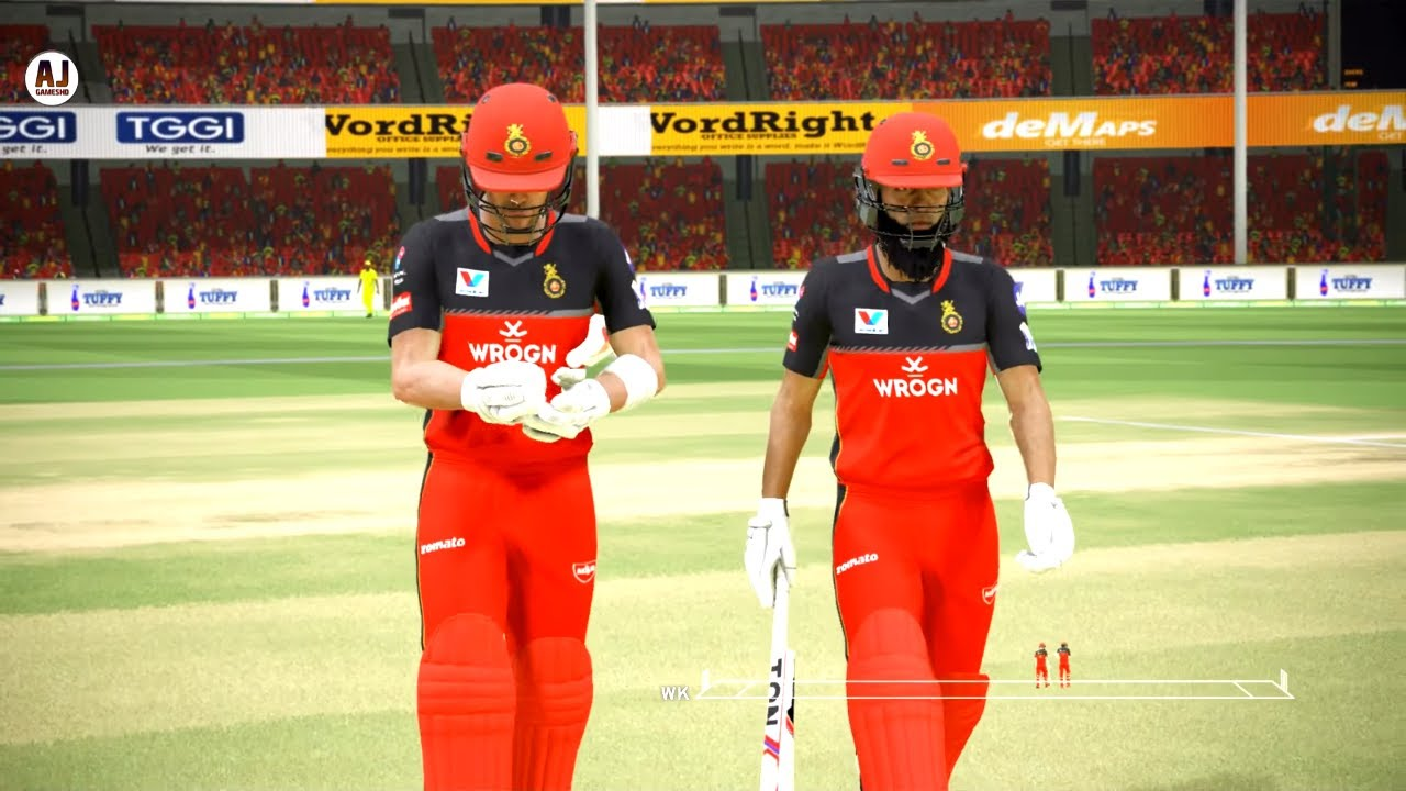 RCB vs CSK 39TH MATCH IPL 2019 || ASHES CRICKET GAMEPLAY 1080P 60FPS