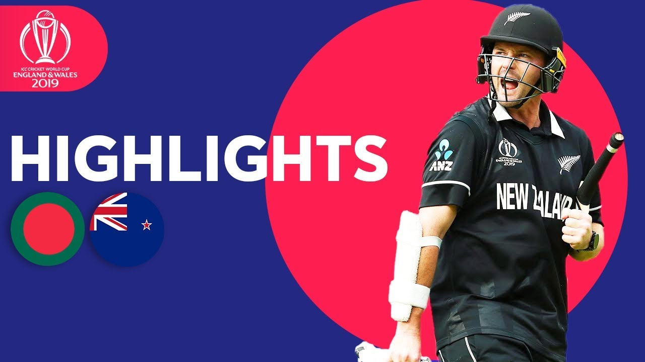 Photo of Down To Final 2 Wickets! | Bangladesh vs New Zealand | ICC Cricket World Cup 2019 – Match Highlights