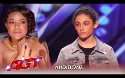 Benicio Bryant: Judges Did NOT Expect This Shy Boy's Voice   America's Got Talent 2019
