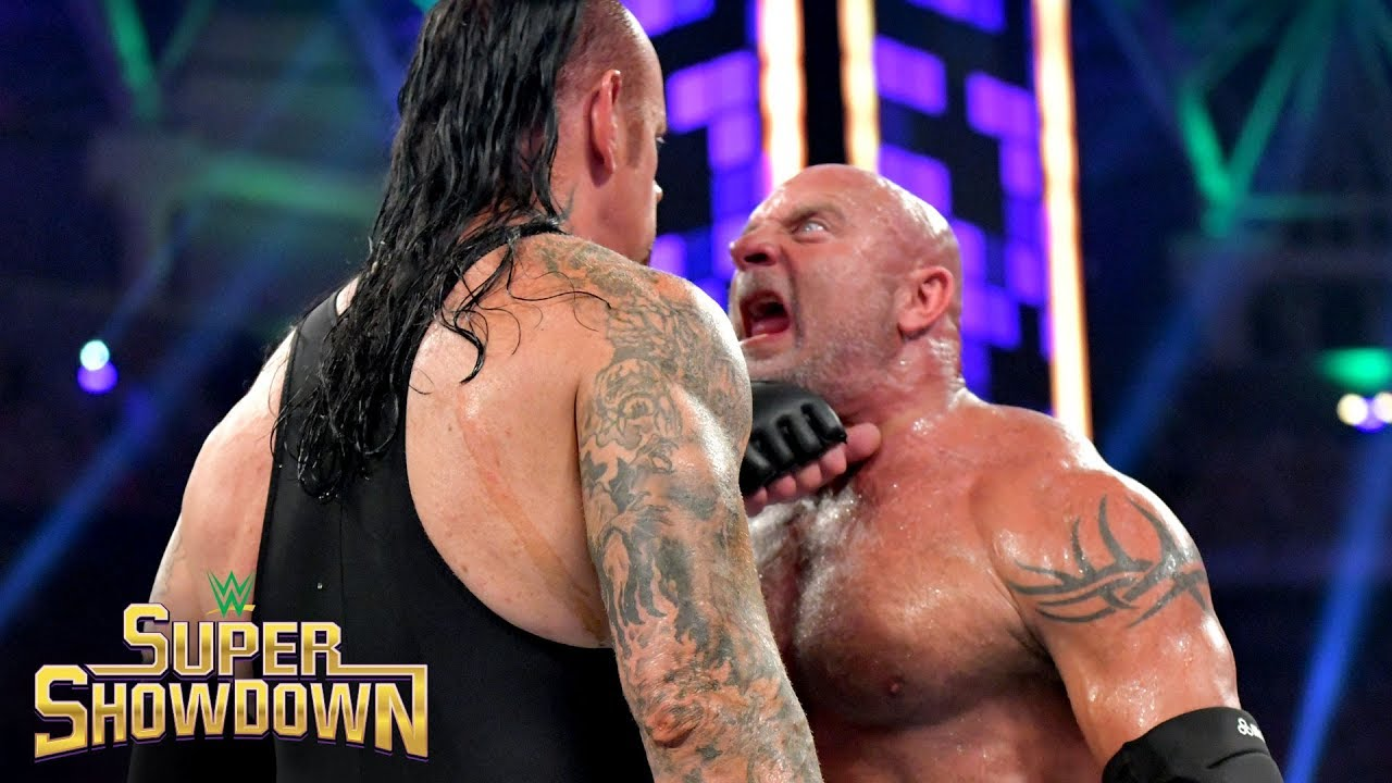 Photo of Goldberg drops The Undertaker with two brutal Spears: WWE Super ShowDown 2019