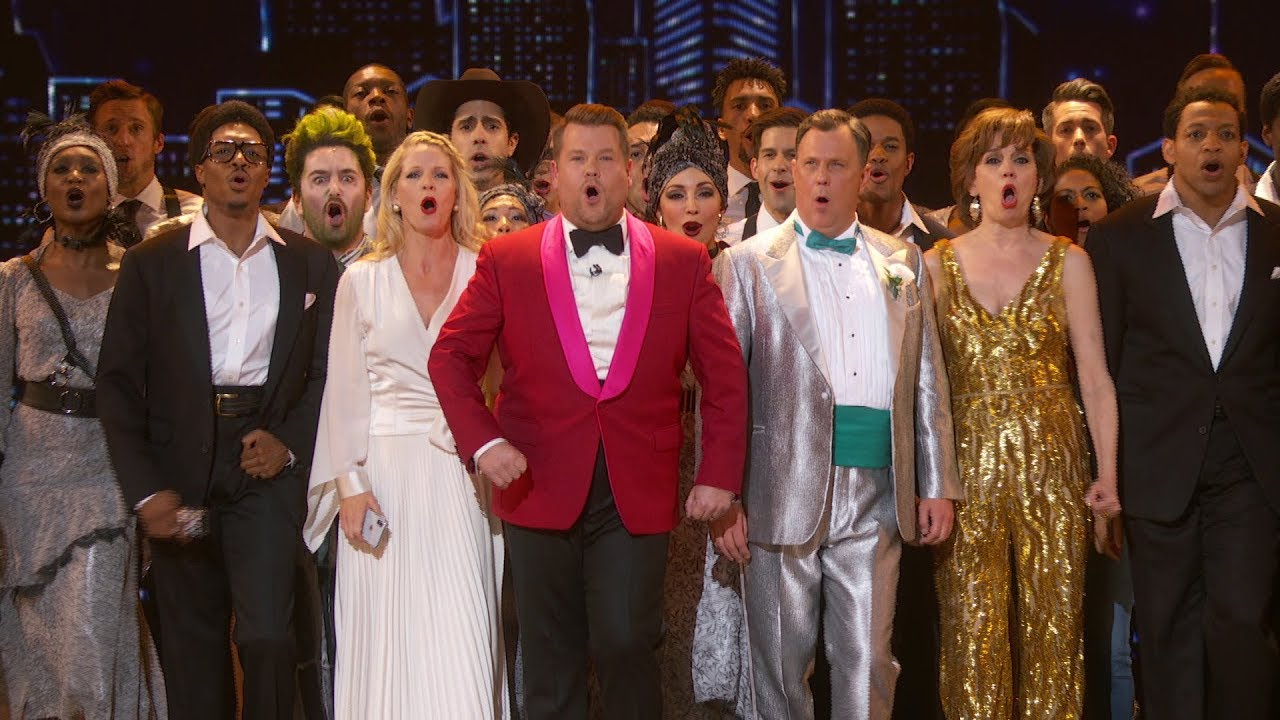 Photo of James Corden's Electrifying 2019 Tony Awards Opening Number Salutes The Magic Of Live Broadway
