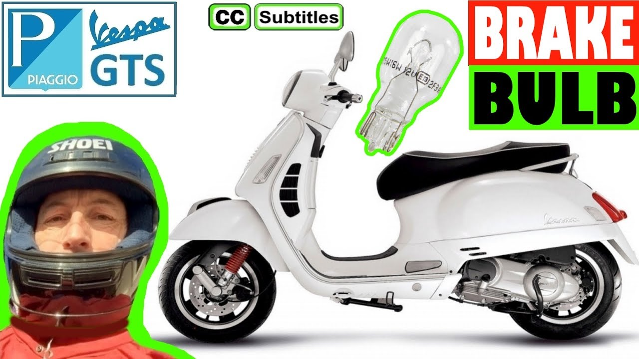 Photo of How to replace Brake Light Bulb on Vespa GTS