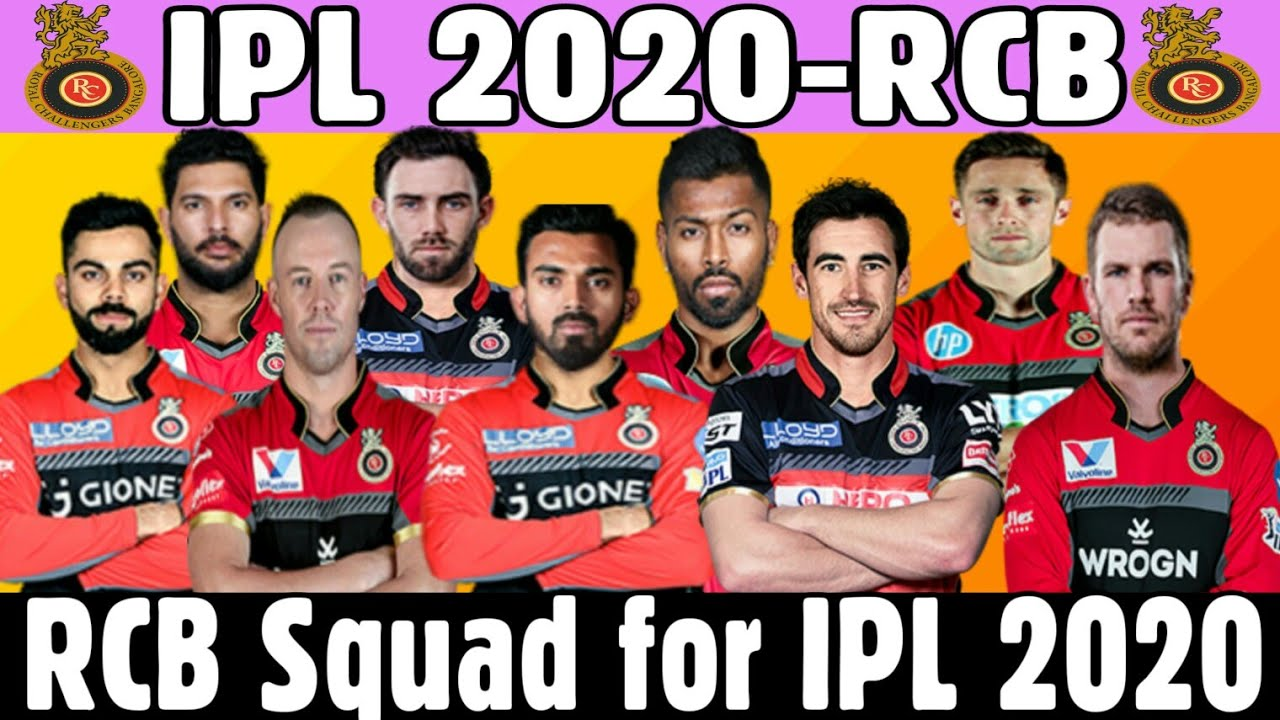 Photo of IPL 2020 : Royal Challenger Bangalore Predicted Playing 11 for IPL 2020 || RCB in IPL 2020