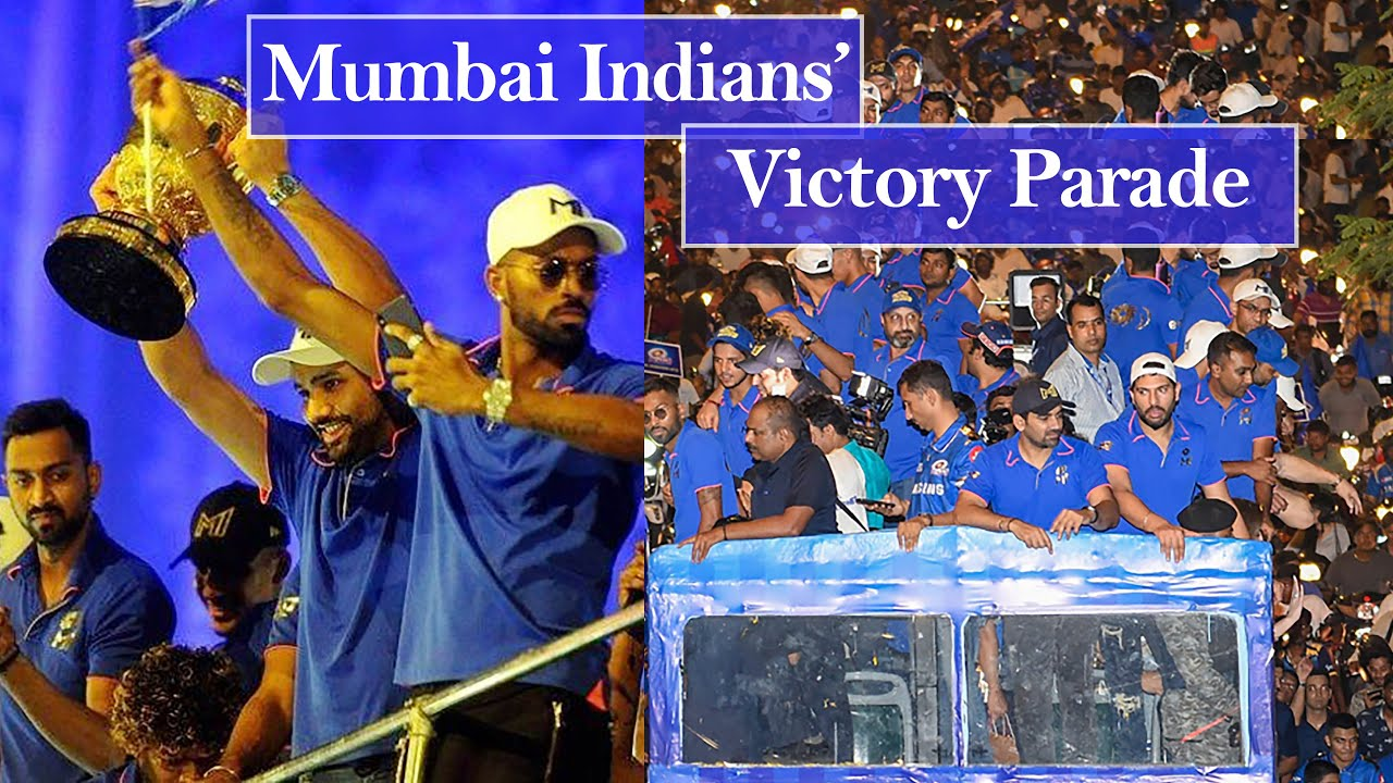 Photo of Mumbai Indians' Victory Parade | Indian Premiere League | IPL 2019 | Filmfare