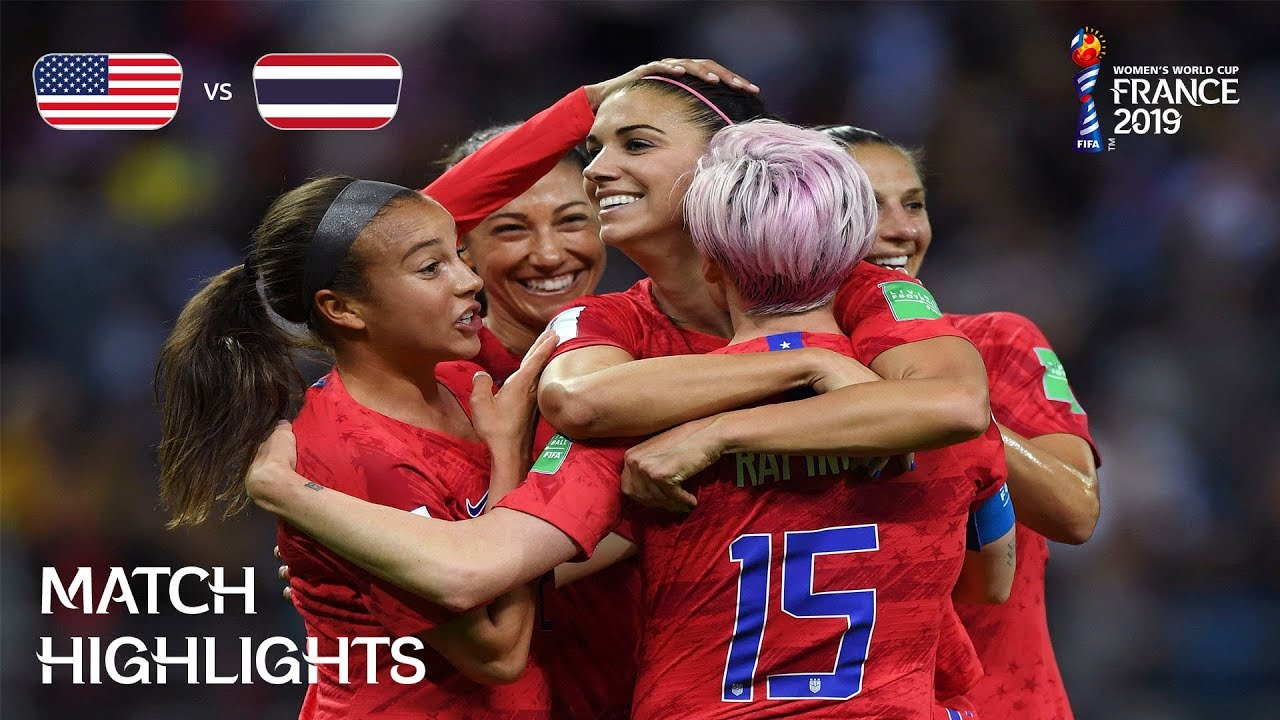 Photo of USA v Thailand – FIFA Women's World Cup France 2019™