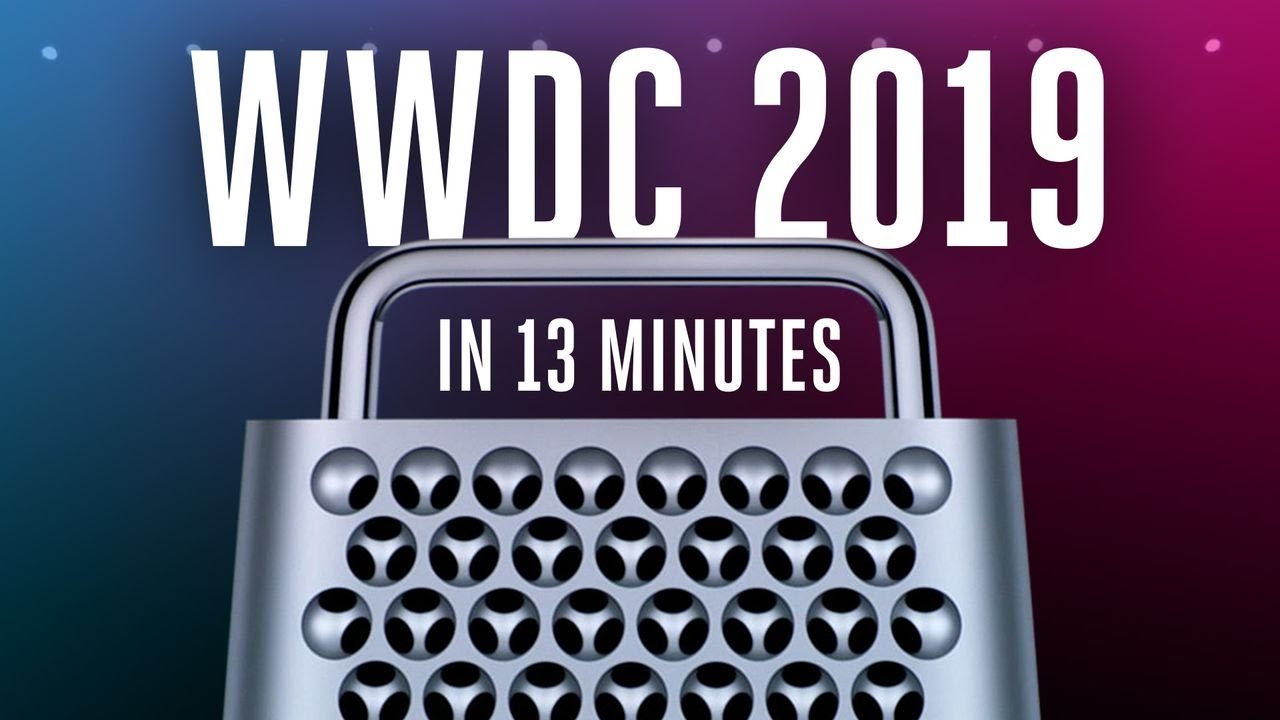 Photo of Apple WWDC 2019 keynote in 13 minutes