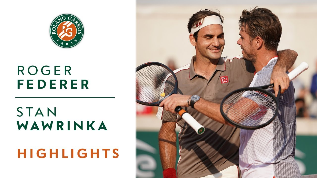 Roger Federer vs Stan Wawrinka – Quarterfinals Highlights | Roland-Garros 2019