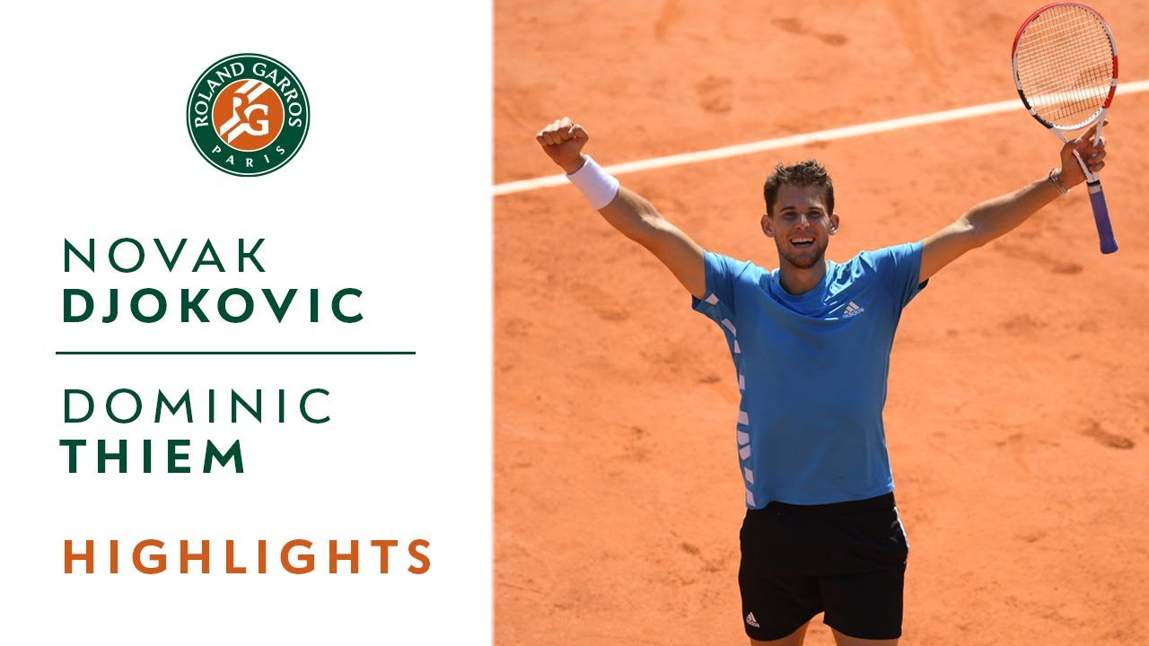 Photo of Novak Djokovic vs Dominic Thiem – Semi-Final Highlights | Roland-Garros 2019